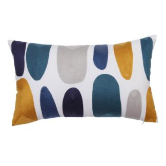 An Image of Abstract Domes Cushion - 30x50cm