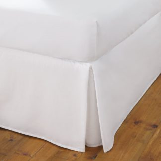 An Image of Fogarty Cooling Cotton Fitted Sheet White