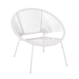An Image of Homebase Acapulco Garden Chair - Grey
