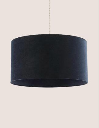 An Image of M&S Oversized Velvet Shade
