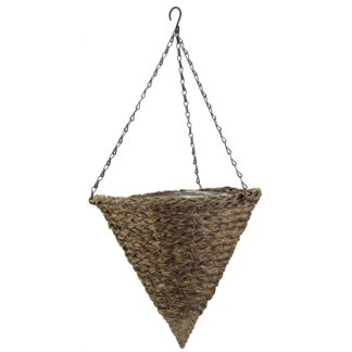 An Image of 14awny Faux rattan basket