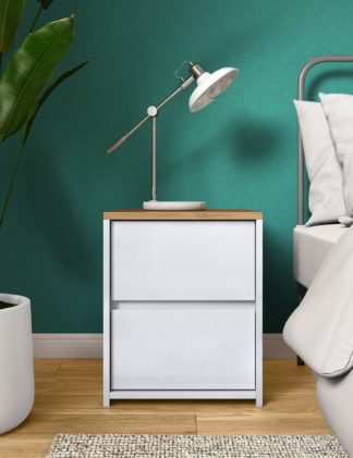 An Image of M&S Loft Bedside Table