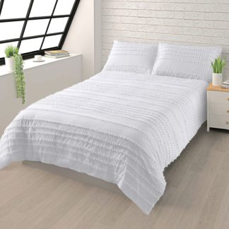 An Image of House Beautiful Cotton Tufted Bedding Set - Super King