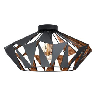 An Image of Eglo Carlton 6 Ceiling Light