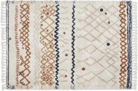 An Image of Drax Berber-Style Rug, Extra Large 200 x 300cm, Multi