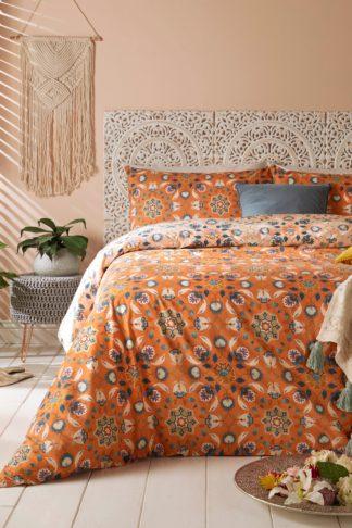 An Image of Folk Floral Double Duvet Set