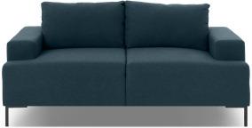 An Image of Frederik 2 Seater Sofa, Aegean Blue