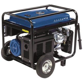 An Image of Draper 2.5 KVA Petrol Generator with Wheels