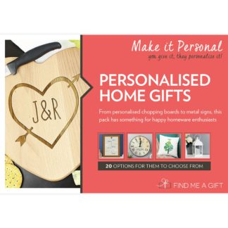 An Image of Personalised Home Gifts For One Gift Experience