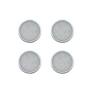 An Image of Arlec Warm White LED Puck Light Set