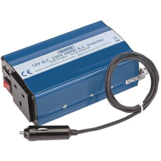 An Image of Draper 200W DC-AC Inverter with USB