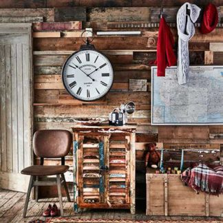 An Image of Little Tree Furniture Mary Rose Reclaimed Wood 2 Door Sideboard
