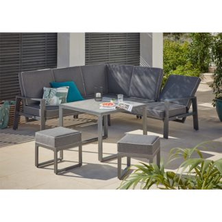 An Image of Magna Corner Garden Sofa Set
