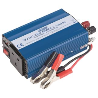 An Image of Draper 400W DC-AC Inverter with USB
