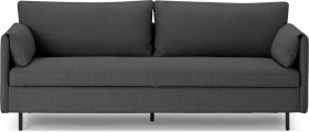 An Image of Hitomi Platform Sofa Bed, Graphite Weave