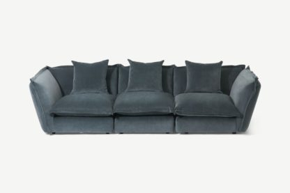 An Image of Fernsby 3 Seater Sofa, Atlantic Chenille Fabric