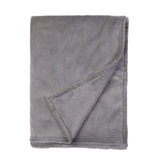An Image of Fleece Throw Grey 150x200cm