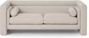 An Image of Mathilde Large 2.5 Seater Sofa, Oat Weave