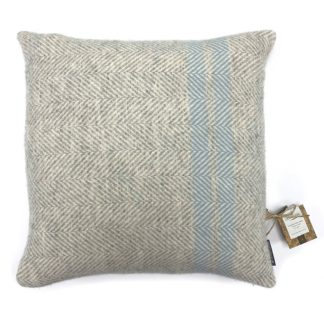 An Image of Country Living Wool Herringbone Stripe Cushion - 50x50cm