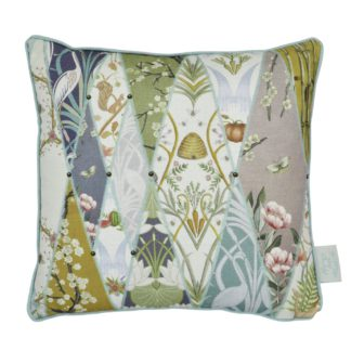 An Image of The Chateau By Angel Strawbridge Wallpaper Museum Cushion