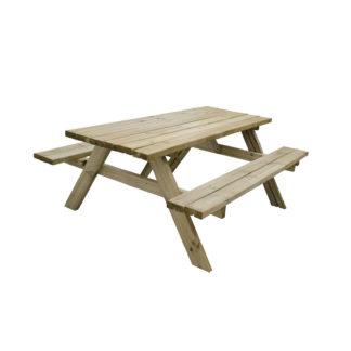 An Image of Rectangular Picnic Table - Large