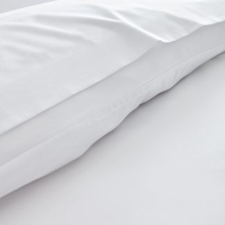 An Image of Fogarty Cooling Cotton Flat Sheet White