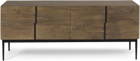 An Image of Rakara Wide Sideboard, Mango Wood