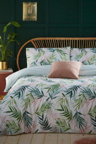 An Image of Bali Palm Single Duvet Set