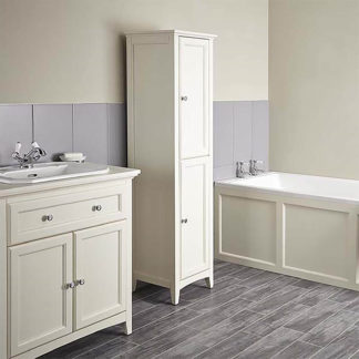 An Image of Bathstore Savoy Old English 400mm Tall Floorstanding Cabinet
