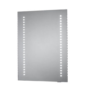 An Image of Bathstore Archer Battery Operated LED Mirror