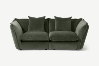 An Image of Fernsby 2 Seater Sofa, Spruce Chenille