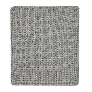 An Image of Kearney Knit Throw 130X170cm Cloud Grey