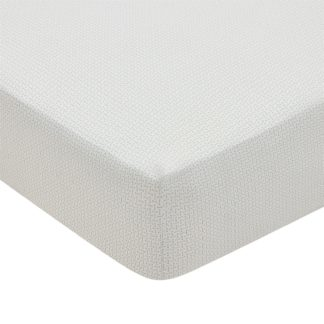An Image of Edie Fitted Sheet Single bed Lough Green