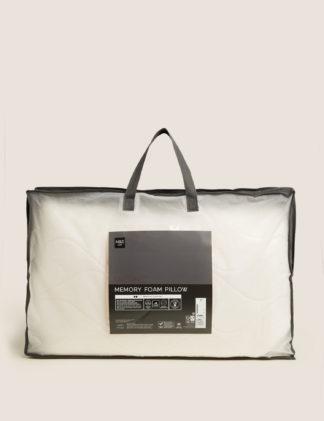 An Image of M&S Outlast Medium Memory Foam Pillow