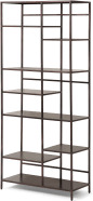 An Image of Munro Shelving Unit, Aged Bronze