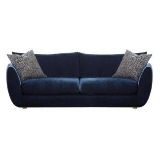 An Image of Big Blue Extra Large Sofa