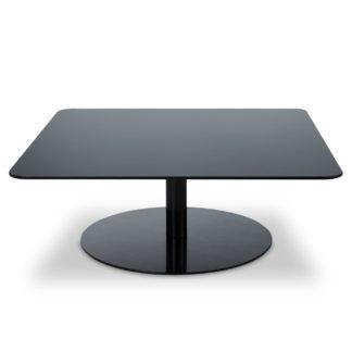 An Image of Tom Dixon Flash Square Coffee Table Black