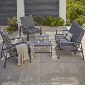 An Image of Magna Reclining Garden Sofa Set