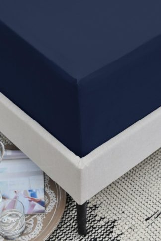 An Image of 200 Thread Count Cotton King Fitted Sheet