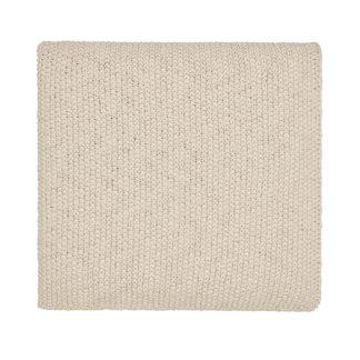 An Image of Drift Knit Throw 130X170cm Linen