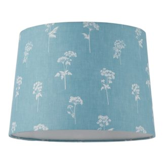 An Image of Annabelle Cotton Drum Shade - 25cm