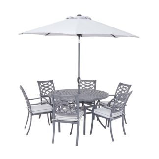 An Image of Tuscany 6 Seater Garden Dining Set