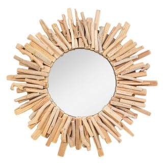 An Image of Solaris Reclaimed Wood Mirror