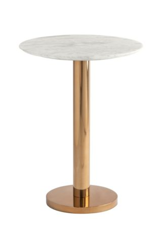 An Image of Parker Brass Side Table
