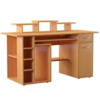 An Image of San Diego Desk - Beech Brown