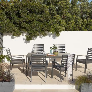 An Image of Magna 6 Seater Garden Dining Set