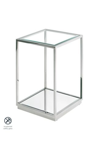An Image of Rippon Silver Square Side Table
