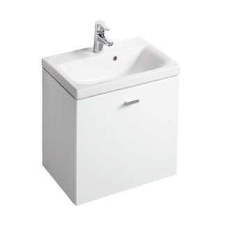 An Image of Ideal Standard Senses Space Wall Hung Vanity Unit - 55cm - Gloss White
