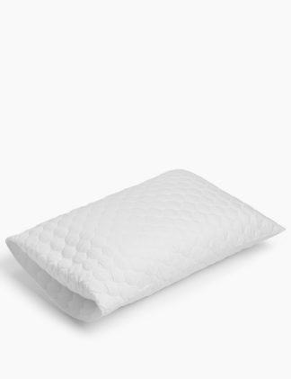 An Image of M&S 2 Pack Cotton Pillow Protectors