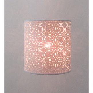 An Image of Alexia Lamp Shade, 20cm, Cream